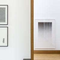Ausstellungsansicht / Exhibition view, Oliver Schuß (l.), Detlef Beer (M.), John Zinsser (r.)
