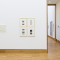 Ausstellungsansicht / Exhibition view, Hubert Berke (l.), Frank Badur (M.), Albert Weis (r.)