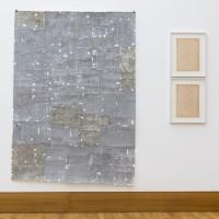 Ausstellungsansicht / Exhibition view, Alison Hall (l.), Emily Hass (r.)