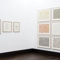 Ausstellungsansicht / Exhibition view, Susan Engledow (l.), Theresa Lükenwerk (r.)