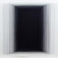 Joachim Bandau, D 1, 2007, Aquarell auf handgeschöpftem Papier, 56 x 76 cm