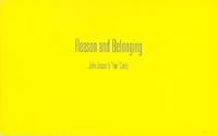Reason and Belonging. John Zinsser