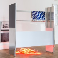 """Ausstellungsansicht """"Painting and Beyond"""", Albert Weis"""