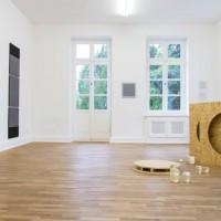 Ausstellungsansicht: Werner Haypeter, Hadi Tabatabai. Aus der Sache heraus, kunstgaleriebonn, 13.09. - 18.10.2013