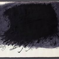 Erwin Bechtold, Tuschezeichnung 61-23, 1961, Tusche auf Papier, 47,5 x 69,5 cm