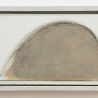 Erwin Bechtold, Bild 85-35, Acryl auf Leinwand, 13,8 x 22 cm