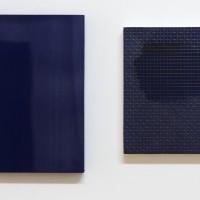 Painting and Beyond, im Kabinett: Timo Kube (l.), Alison Hall (r.)