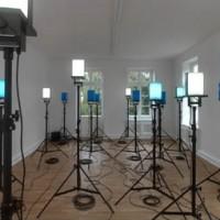 Werner Haypeter. Kraftfelder, 2011, Ausstellungsansicht, kunstgaleriebonn