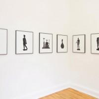 Ausstellungsansicht: Matthias Wollgast