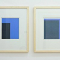Ausstellungsansicht Papier/Paper II, Frank Badur