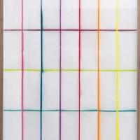 tratto, 2010, Transparentpapier, beidseitig lackiert und gefaltet
