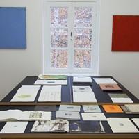 "Peter Tollens. ""orange was the colour of her dress, then blue silk"", 2012, Ausstellungsansicht, kunstgaleriebonn"